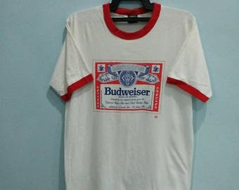 Rare!! Budweiser Vintage shirt