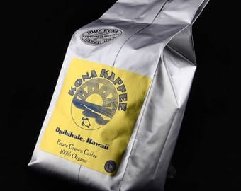 Kona Coffee 100% pure organically grown