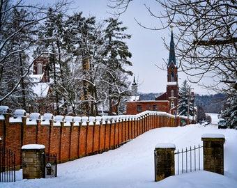 Oldenburg in Snowy Winter