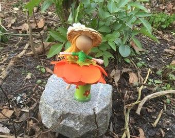 Mini Orange delight doll