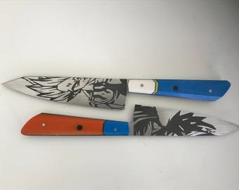 Dragon ball Z petty kitchen knife