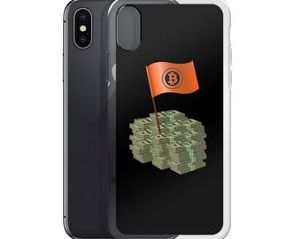 Bitcoin Logo Cryptocurrency Blockchain iPhone Case (5/5s/6/7/8/X)