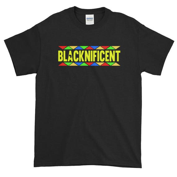 Blacknificent Africa Style Logo Tee