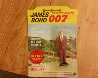 James Bond Secret Agent 007 Goldfinger Action Figure (1965)
