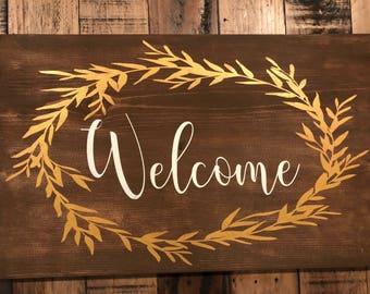 Welcome Grassy laurel