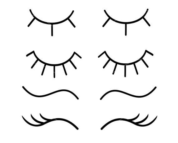 eyelashes svg unicorn eyelashes svg eye lashes svg lashes svg Unicorn Eyelash Clip Art Eyelash Clip Art