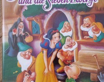 Walt Disney Classics-Snow and the Seven Dwarfs/top condition with a recliner!