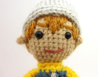 TK (Digimon Adventure 02) - Handmade crochet original design doll