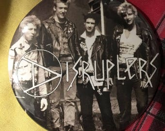 "The Disrupters 3"" Pin"