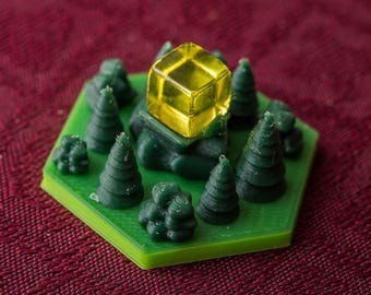 Terraforming Mars: Forest/Greenery Tiles Set (10 Pieces)