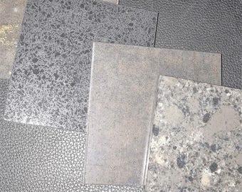 Black Granite Coaster Set