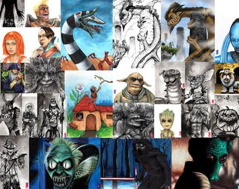 Buy ANY 3, get 1 free!!! 4 prints by Gary Flatt for only 30 dollars