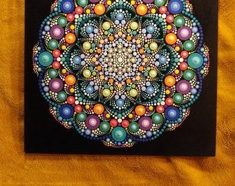 Universal painted mandala