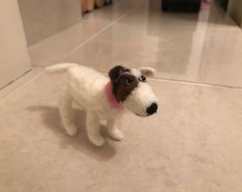 Personalised needle felt pet