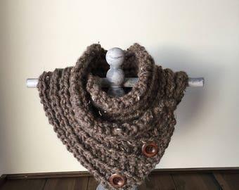 Unique neck warmer, THE PENNY
