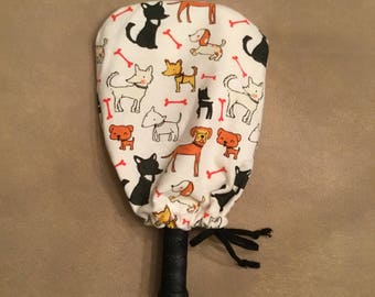 Doggy Pickleball Paddle Cover