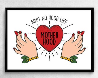 Motherhood-Print Din A5