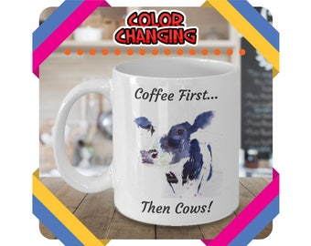 Cow Mug, Cow Cup, Coffee Mug, Funny Cow Mug, Cow Lover Gift, Cow Gift, Farm Animal Mug, Funny Cow Gift, Cow Gifts, Highland Cow, Cows, Mugs