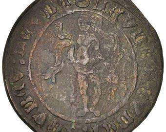 france token token count jeton à la vénus 1527 ef(40-45) copper