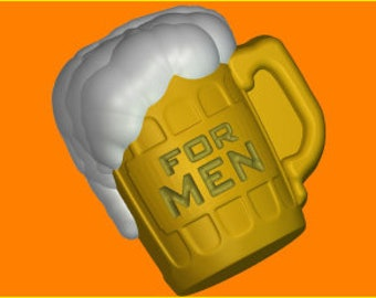 Soap mold, Icetray, Form for chocolate, Soap, Clean, the Creative,glass of beer, beer, for men