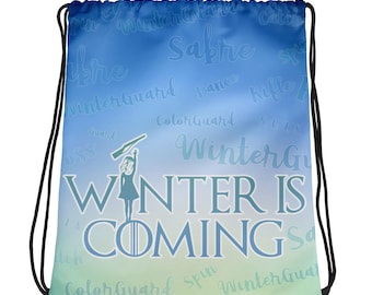WinterGuard Is Coming (Rifle) Drawstring bag - Winter Guard