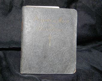 Vintage Catholic Prayer book. Prayers at Mass and Devotion, 1936