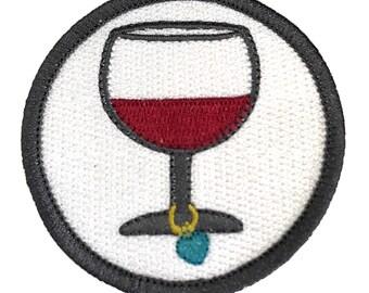 Wine Love Craftbadge craft merit badge