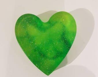 Handmade Heart Soap