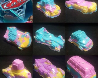 Cars bath bomb set