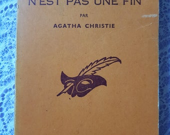 Agatha Christie - death is not an end - Death comes as the end - novel - literature - France - Vintage book