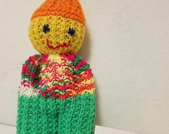Knit Comfort Doll #3