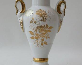 Porcelain de Bruxelles Belgium vase