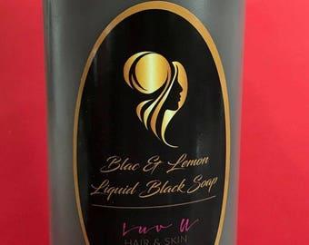 Blac & Lemon Liquid Blac Soap