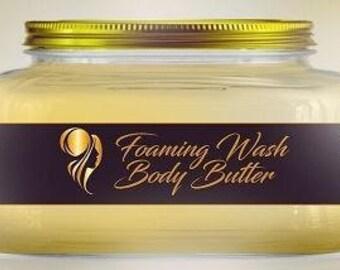 Foaming Body Butter Wash
