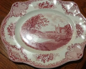 Johnson brothers serving platter