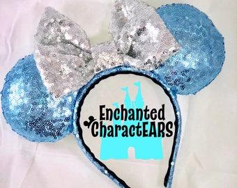 Cinderella Ears Custom Minnie Ears