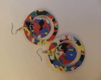 Multi Color Double Circle