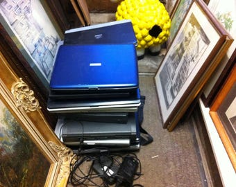 Eighteen laptops pads etc for spares repairs offers. Collection only from bh25