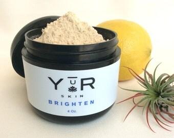 Yur Brighten All Natural Facial Mask Powder 4 ounce