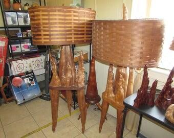 Cypress Knee Floor Lamps