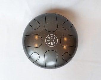 Handpan - G minor Steel Tongue Drum Meditation Happy Tank Hank AM Zen Hand Pan
