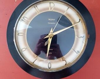 Vintage TROPHY clock