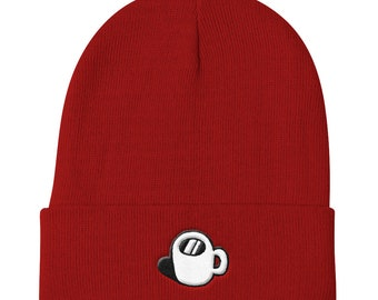 Coffee Cup Logo Knit Beanie