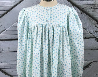 Size 10, 12, 14--Girl's Cotton Flannel Gown