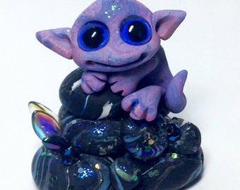 Crystal Cavern Dragon Trollfling Troll Lili by Amber Matthies