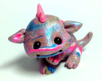 "OOAK Playful Baby Dragon Trollfling Troll ""Mollie"" by Amber Matthies"