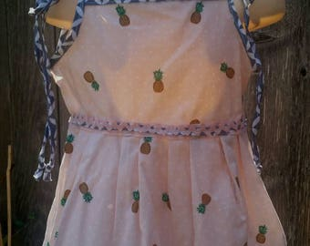Dress Pineapple Pink 12mos-2t Baby Toddler Boutique