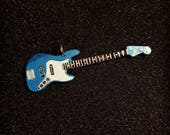 James Johnston signature blue bass pendant