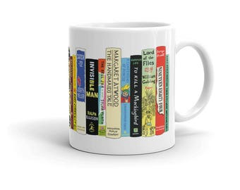 Ideal Bookshelf Mug: Novels of the 1900s