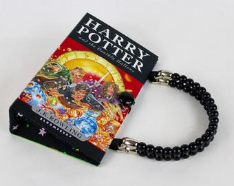 Harry Potter and the Deathly Hallows Book Purse - made from recycled book by Rebound Designs
